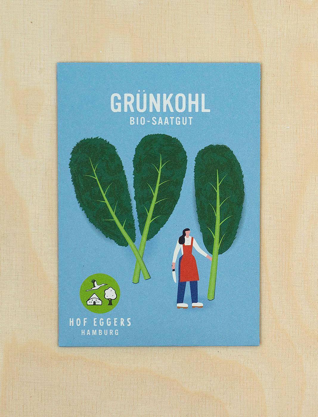 Grünkohl grüner Krauser, Saatgut