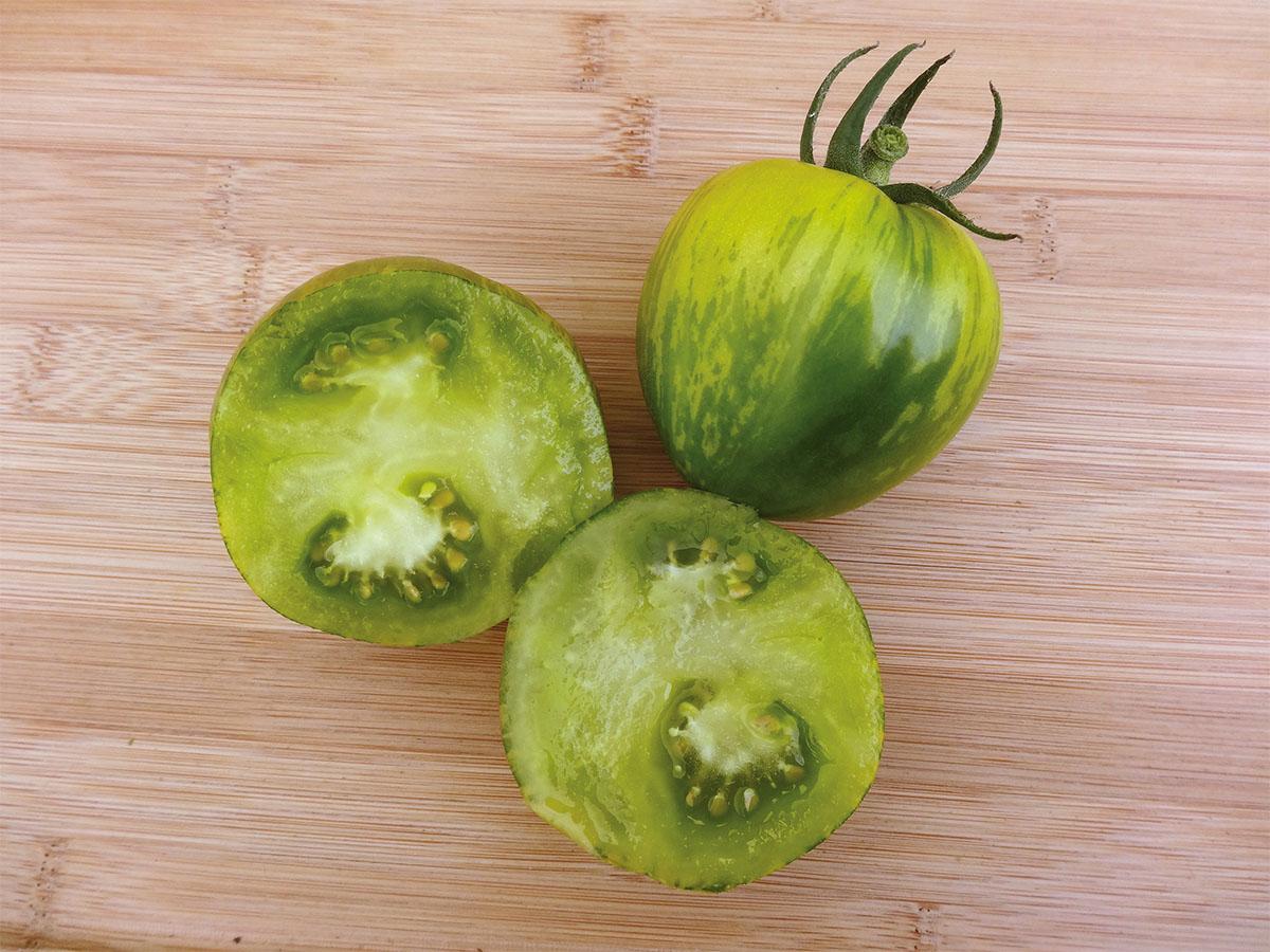 Tomate Grüne Zebra